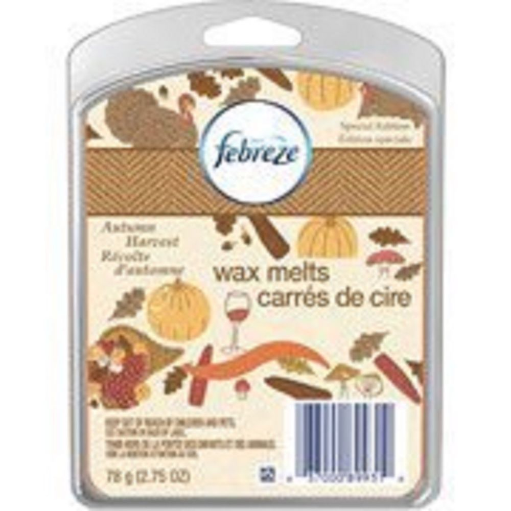febreze scented wax melts 6 ct autumn harvest new special edition