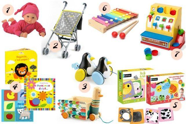 id es cadeaux pour b b de 1 an jeu et jouets 12 18 mois. Black Bedroom Furniture Sets. Home Design Ideas
