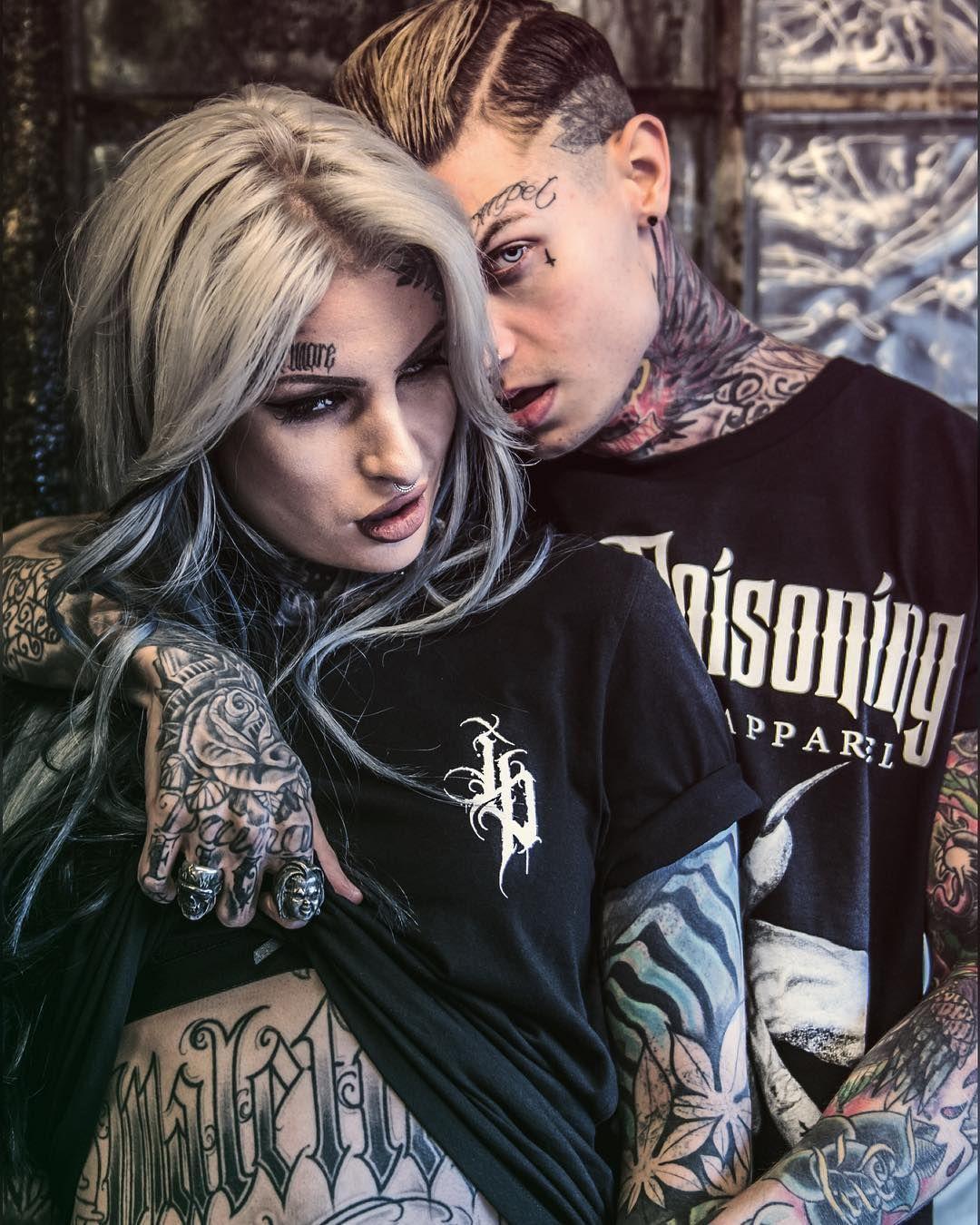 L U L O G L Lusylogan Model Jord Liddell Tattooed Couples Photography Tattoos For Guys Model Hd wallpaper tattoo couple