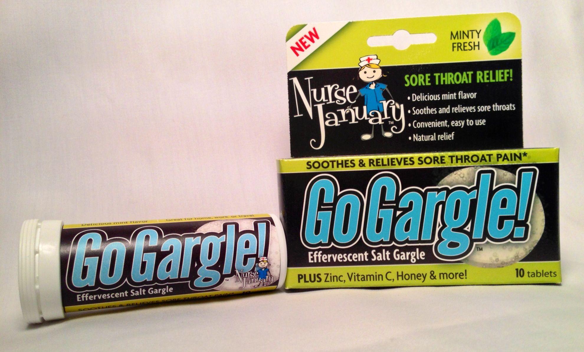 Gogargle Is An All Natural Salt Based Effervescent Gargle For Sore