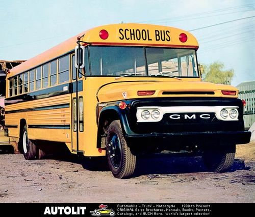 1966 School Bus With Images School Bus Old School Bus Bus