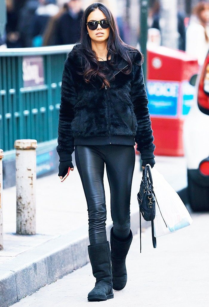 13 Cute Ways to Style Your Uggs This Winter via  WhoWhatWear f9b44e77963