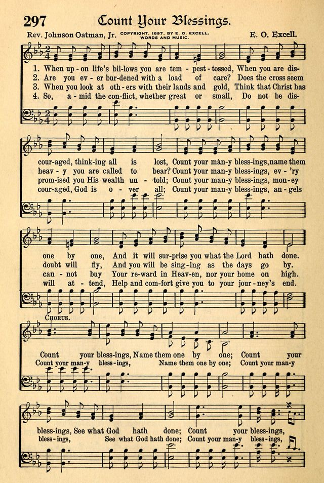 Lyric count your blessings hymn lyrics : Count Your Blessings | Hymns | Pinterest | Blessings, Count and Songs