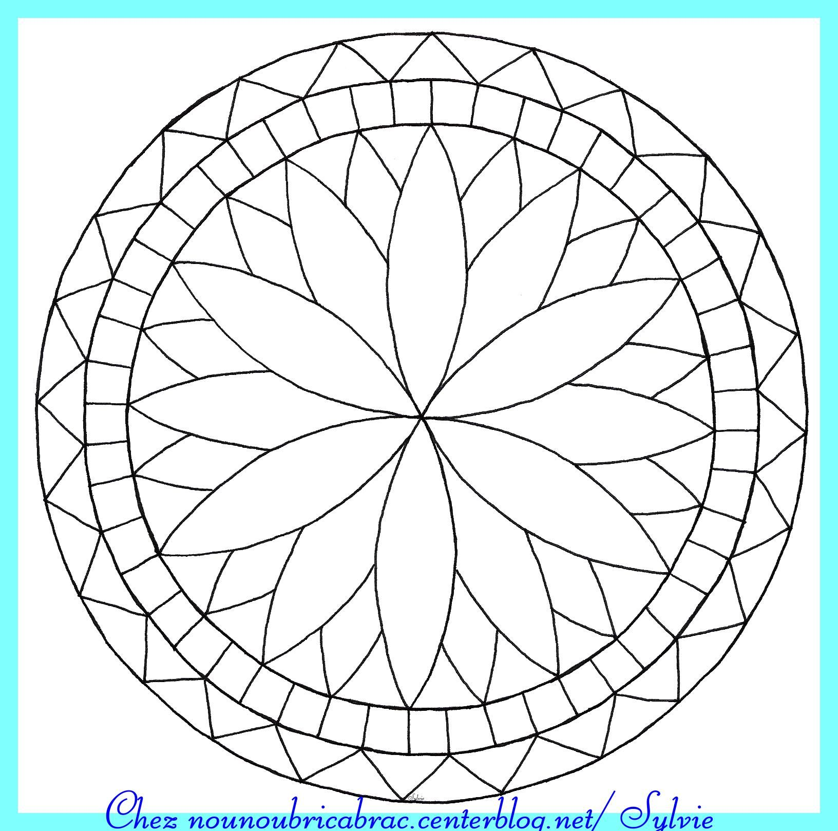 comment dessiner des rosaces rosaces pinterest coloriage de mandala mandalas et coloriage. Black Bedroom Furniture Sets. Home Design Ideas