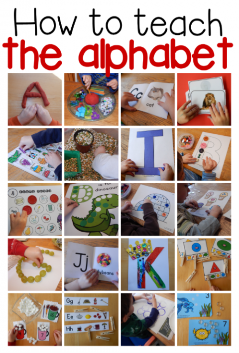 Letter of the Week with a 3yearold Preschool learning