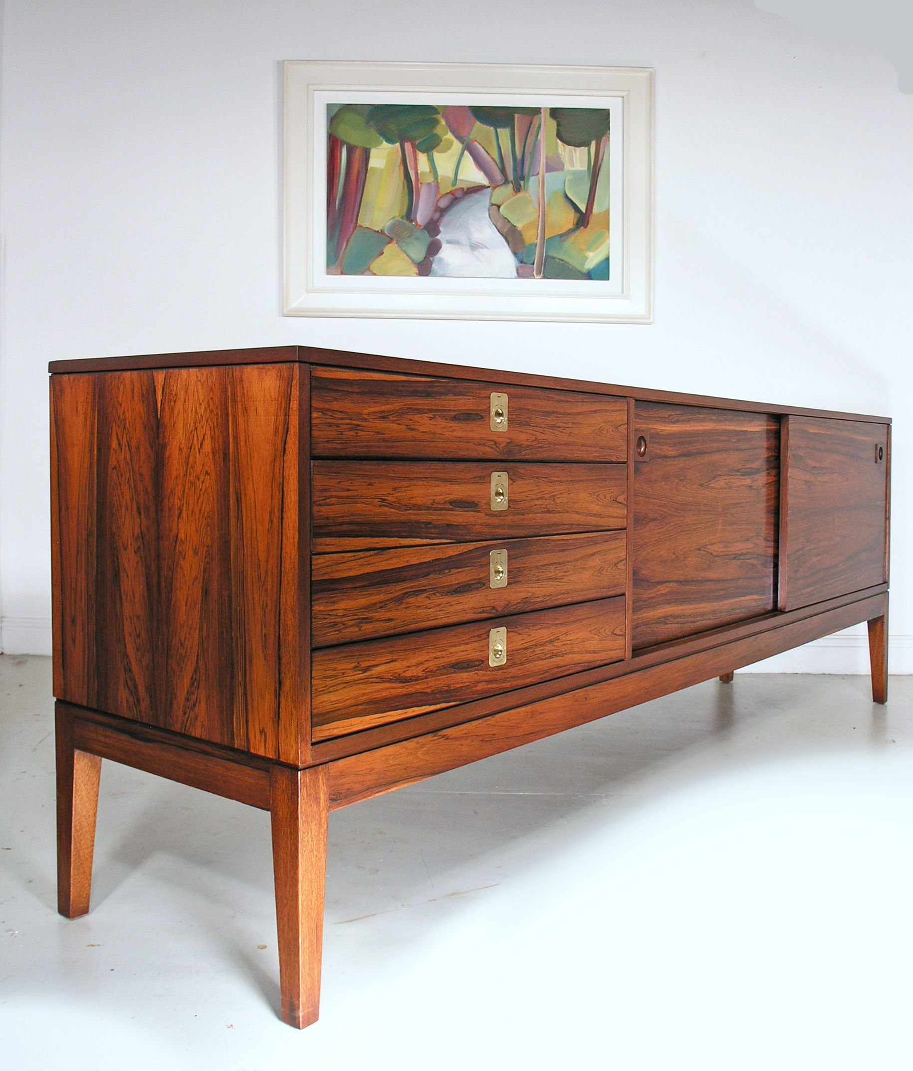 Robert Heritage Rosewood Sideboard For Archie Shine   Heals 1960s.  Www.midcenturyhome.co.uk