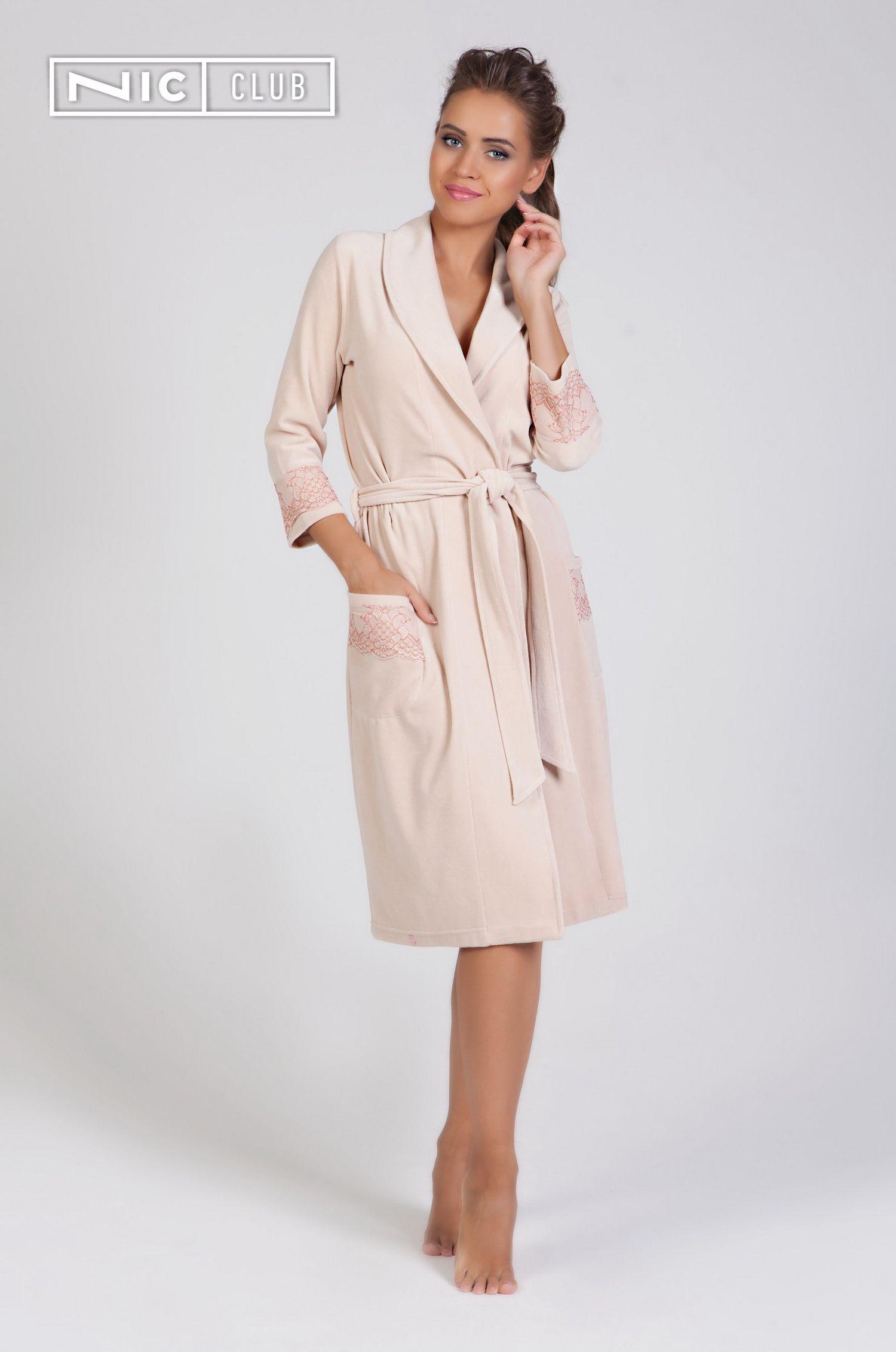 6de6fc892c3 Уютный велюровый халат Comfort («Комфорт») — на запах