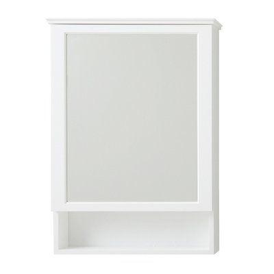 Ronbow Wyatt 24 X 34 Surface Mount Framed Medicine Cabinet