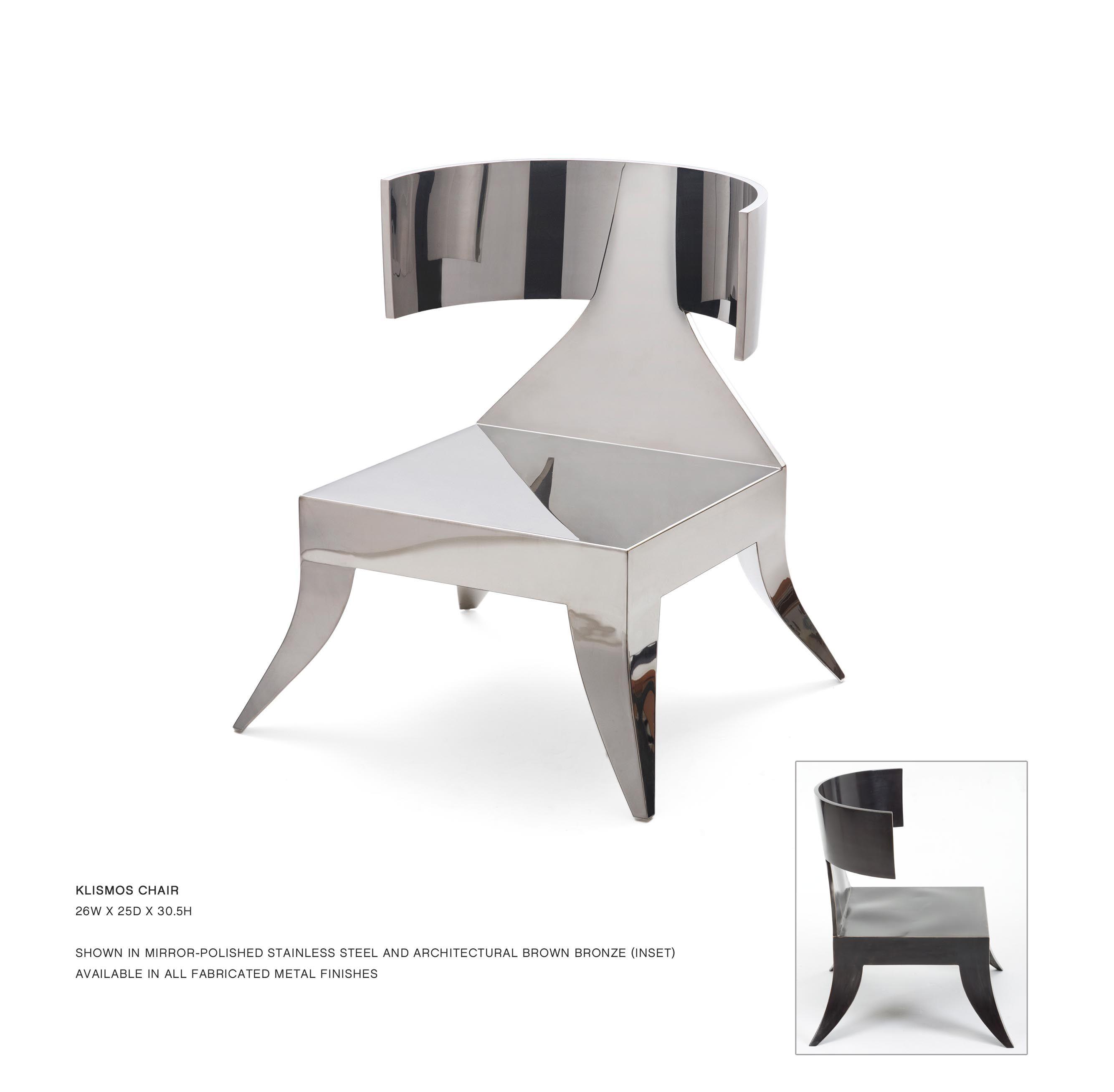 John Lyle Design - KLISMOS CHAIR  Klismos chair, Chair style