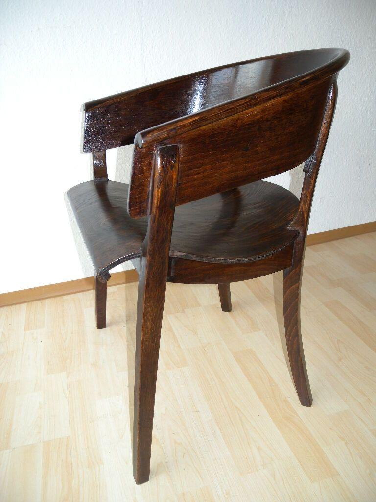 Selten Bauhaus Rockhausen Waldheim Armlehnstuhl Stuhl Mod K18 Schreibtischstuhl Ebay Dining Chairs Furniture Home Decor