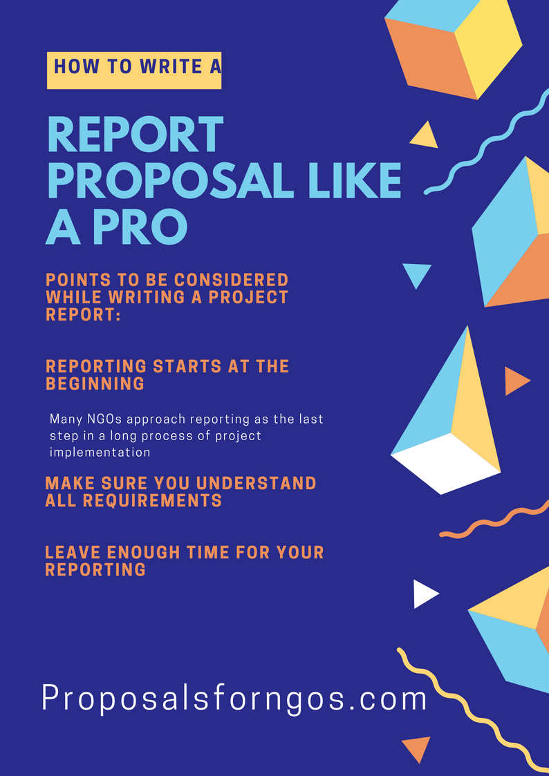 How To Write A Project Report Like A Pro Fundraising Tips And