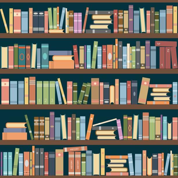 Best Bookshelf Illustrations Royalty Free Vector Graphics Clip Art Istock Bookshelf Art Book Clip Art Illustration