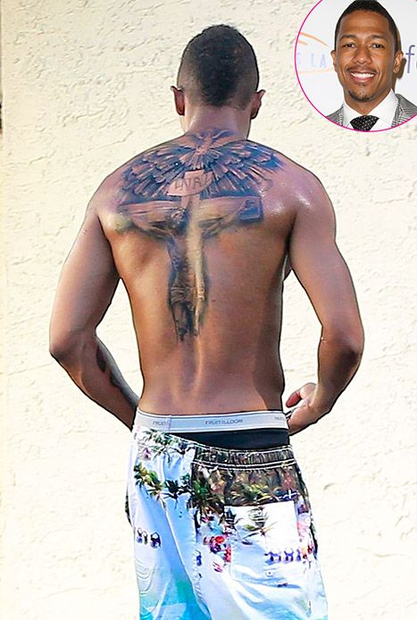 cannon nick tattoos and carey Mariah