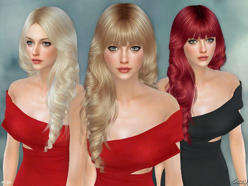 Pin on The sims 4 CC Hair (Female)