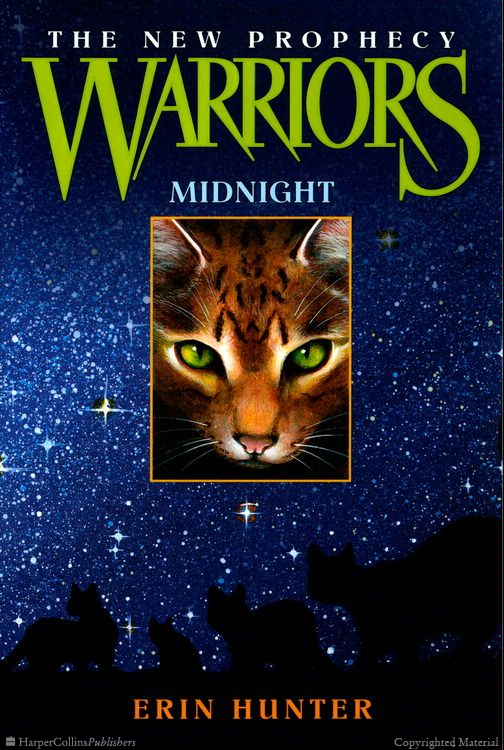 Warriors The New Prophecy book 1 Midnight Warrior cats