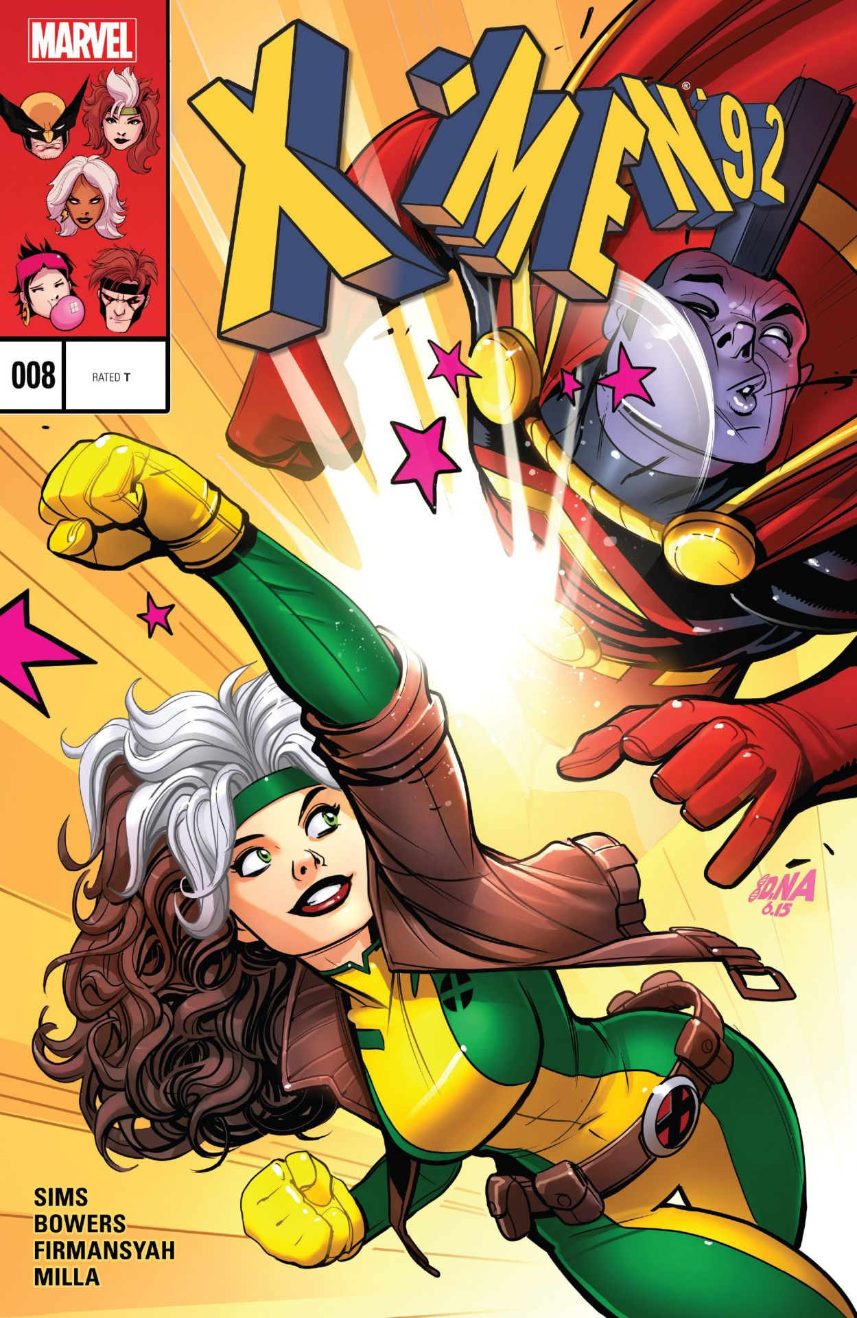 X Men 92 Vol 2 8 David Nakayama Marvel Rogue Marvel Comics Marvel Comic Character