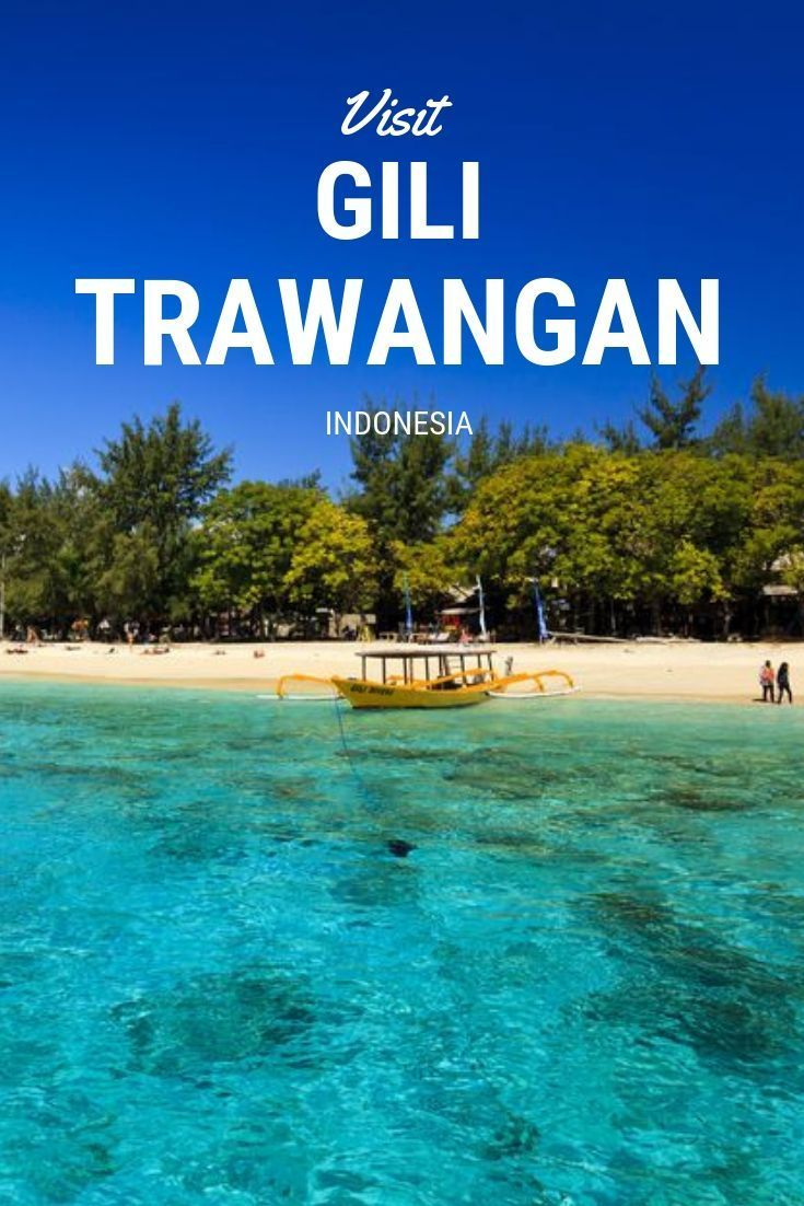What to do in beautiful Gili Trawangan, don't miss this island if you plan on visiting Bali! #gilit #bali #indonesia