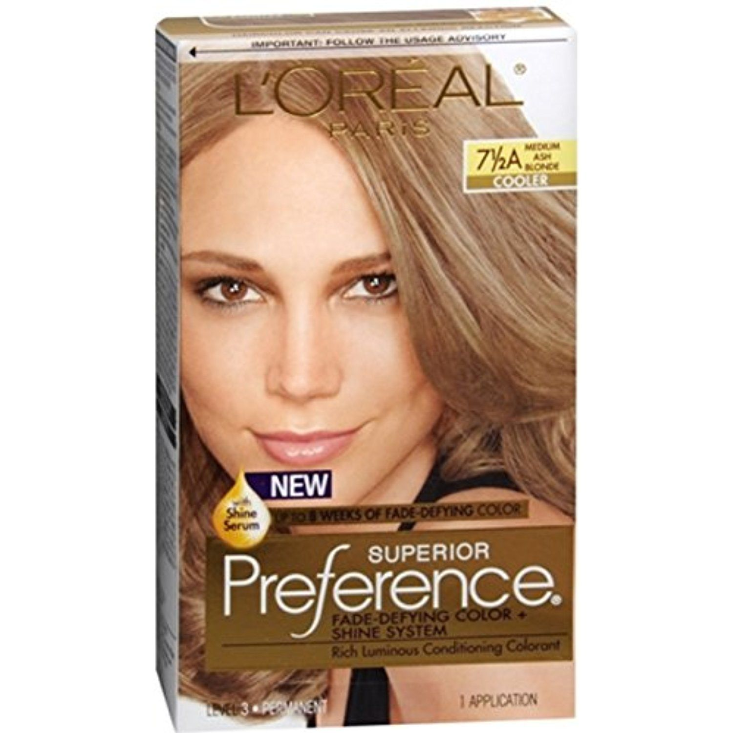 Pref Haircol 7 5a Size 1ct L Oreal Preference Hair Color Medium Ash Blonde Haircoloringproducts Hair Color Medium Hair Color Loreal