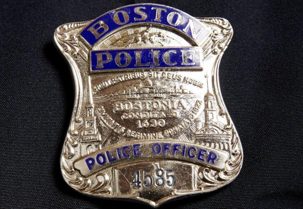 Boston Police badge Police badge, Police, Fire badge