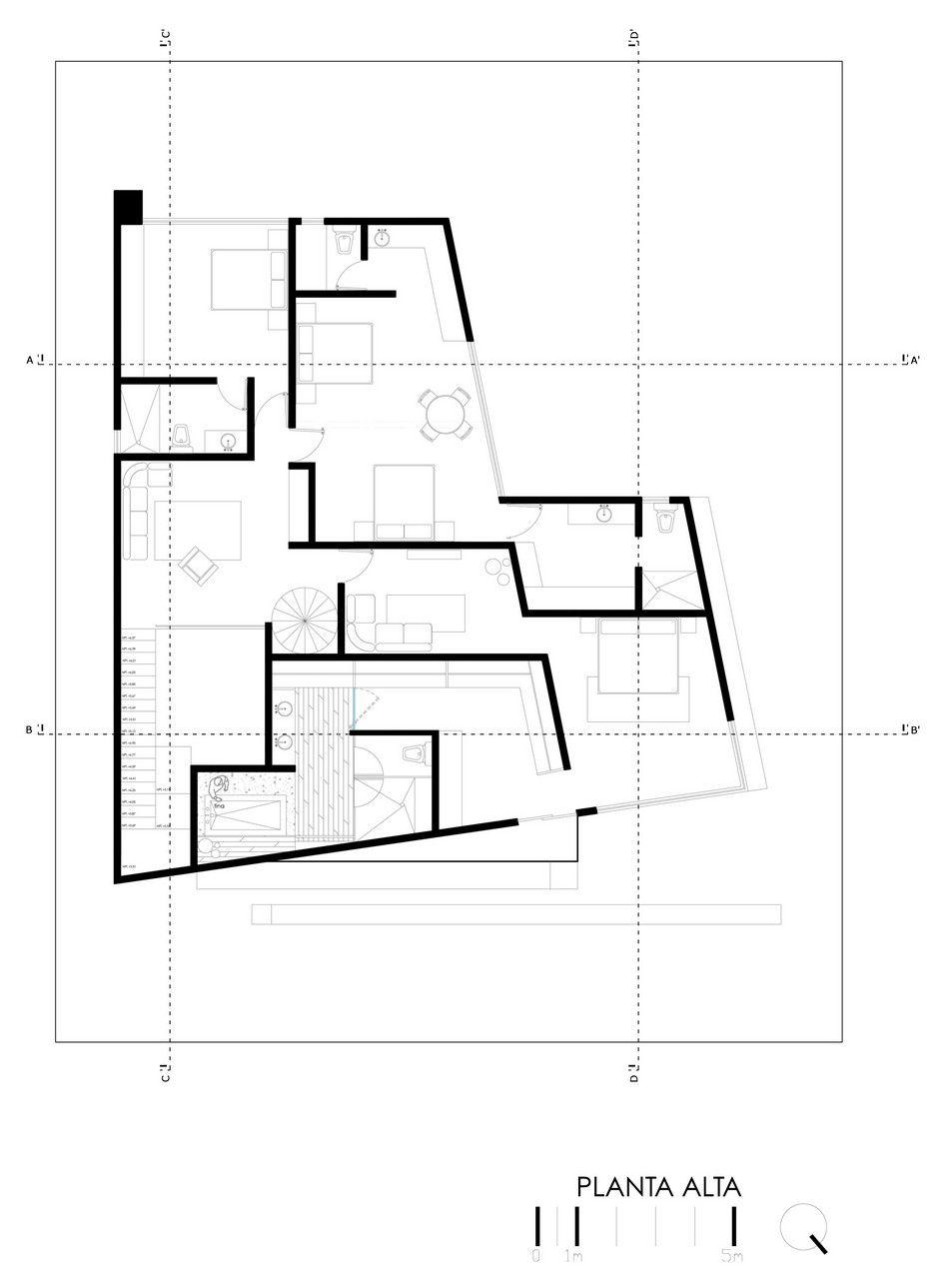 Planos de casa grande con piscina, exclusivo diseño de casa de ...