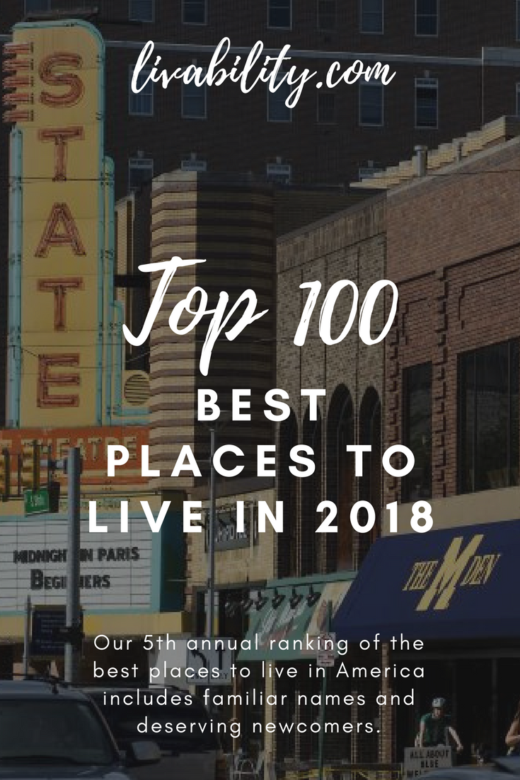 Our 5th annual ranking of the best places to live in America