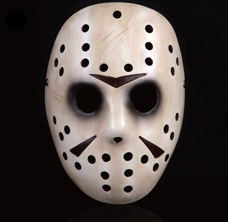 M scara jason voorhees viernes 13 hockey color marfil in - Mascaras de terror ...