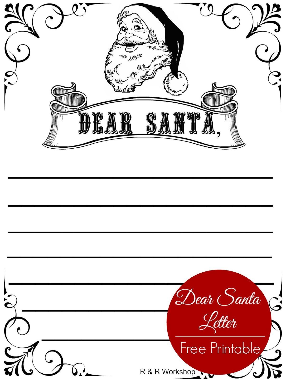 Workshop Free Printable Christmas Music Song Sheets Dear Santa Letter