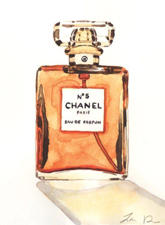 Chanel No 5 Art Chanel Art Chanel Perfume Art Coco Chanel Quotes Fashion  Illustration Chanel No5 Vin 19d8df8021