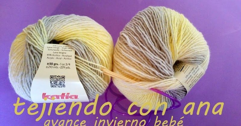 BIENVENIDO OTOÑO!!!!, CON ESTA CREACIÓN, dejo los algodones del VERANITO y los sustituyo por cálida lana, me encantó esta matizada de Ka... #bienvenidootoño