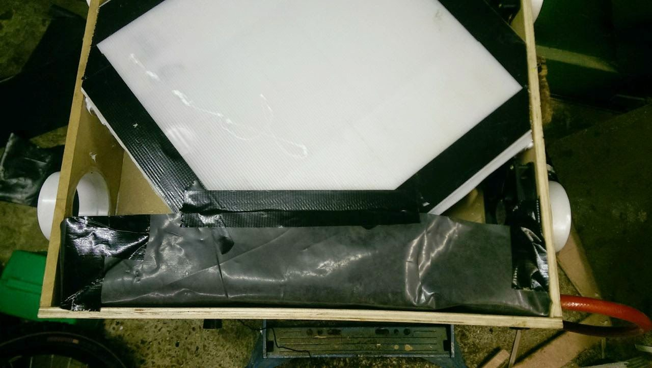cheap but effective homemade heat exchange ventilation system