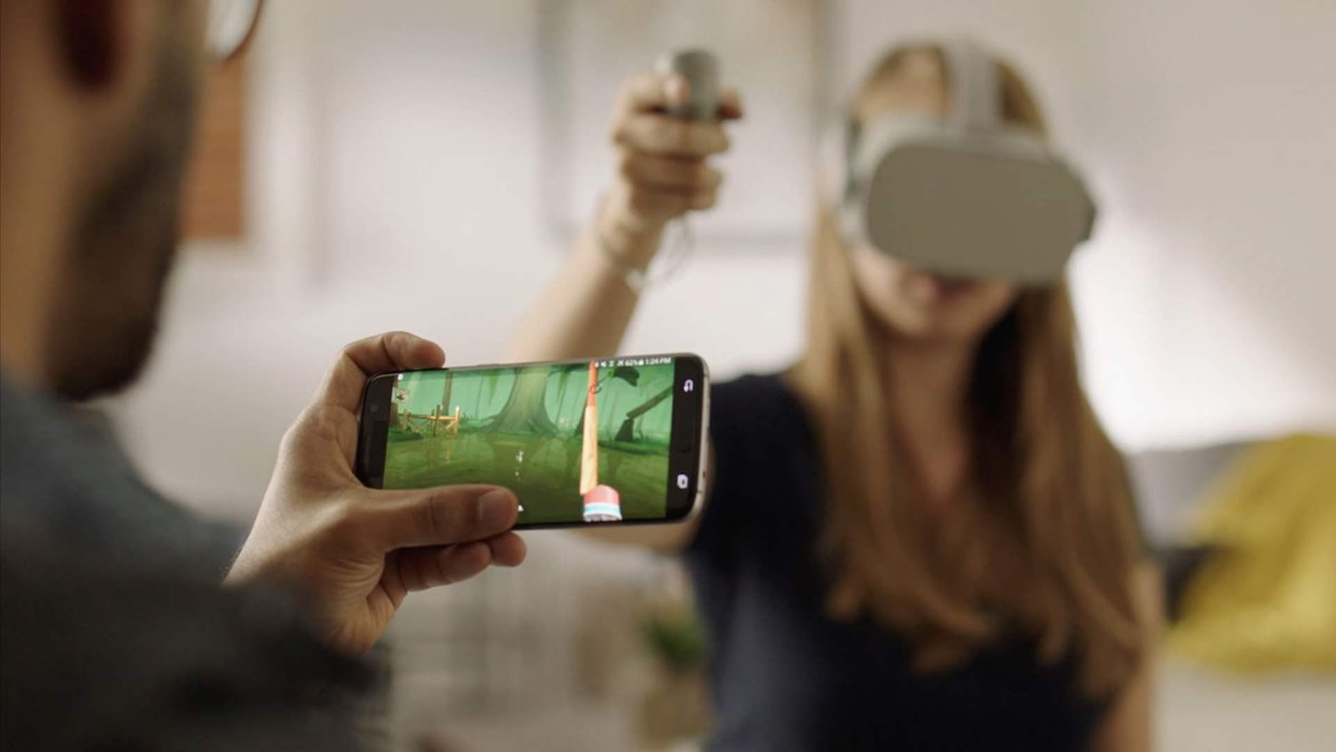 Oculus released screencasting in beta late last year, and