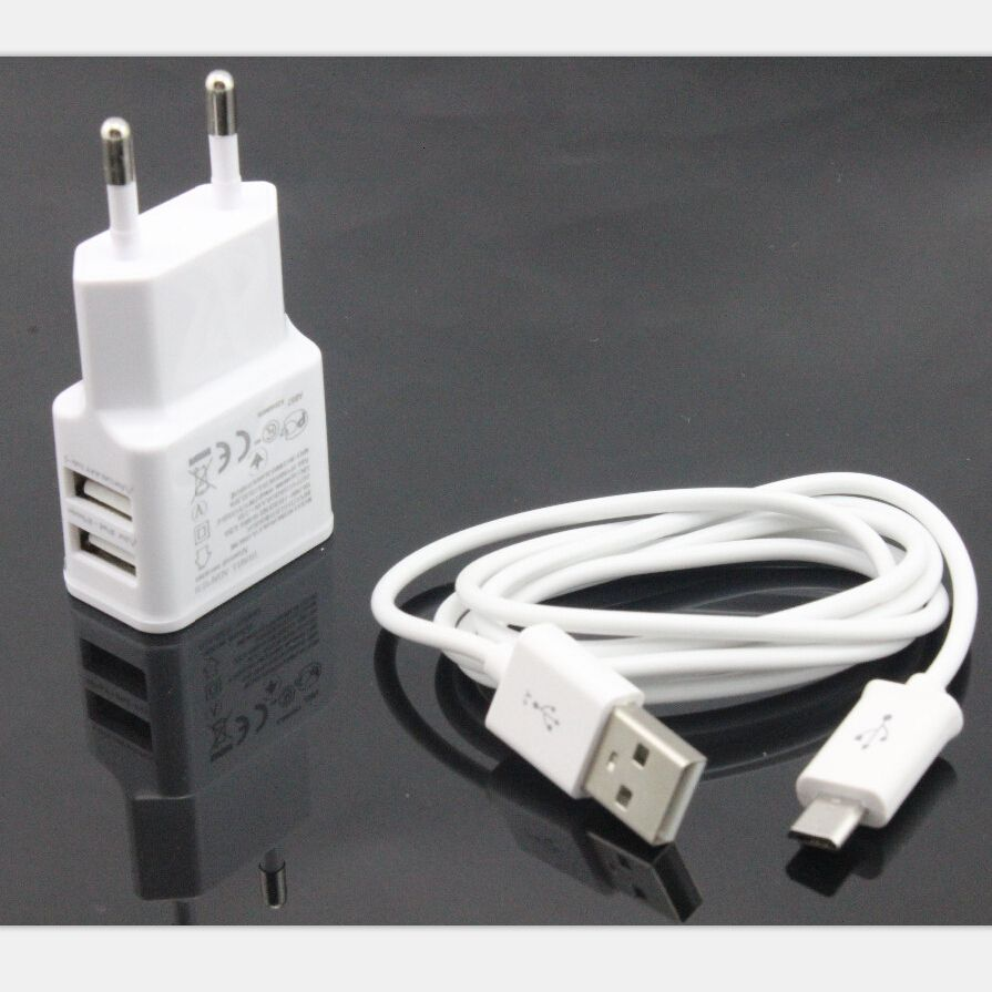 518977da1e88e 5pcs High Quality 5V 2A EU plug Wall Charger adapter + Micro USB Cable For  Samsung Galaxy S4 I9500 S3 I9300 note 2 N7100  Affiliate