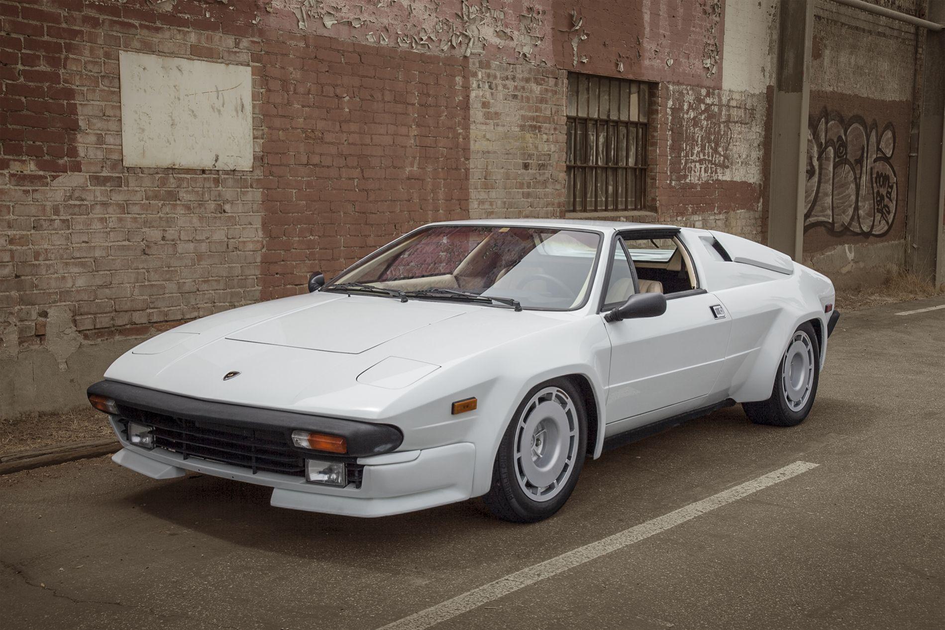Lamborghini Jalpa. Not the greatest car ever made, but I love the ...