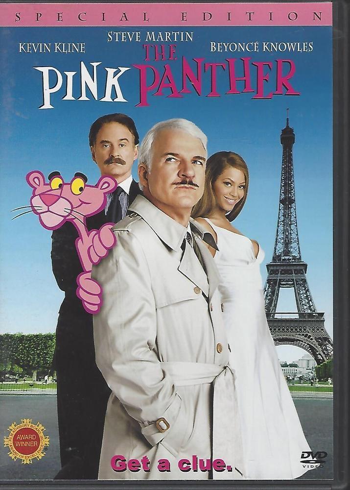 Pink Panther Dvd 2006 Steve Martin Beyonce Kevin Kline Pink Panthers Steve Martin Good Comedy Movies