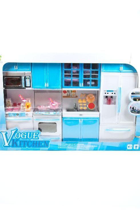 Barbie 4 Piece Vogue Modern Kitchen Set Lower Price Barbie House Furniture Barbie Kitchen Set Dollhouse Furniture Kits