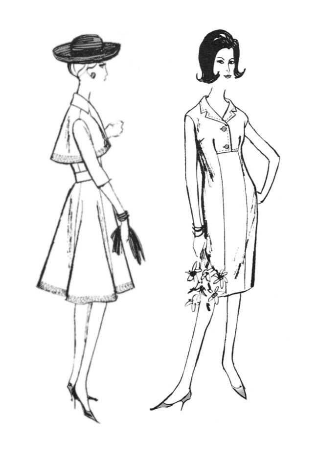Pin By Margaret On Fashion 1960s Fashion Sketch Template Fashion History Cool Coloring Pages