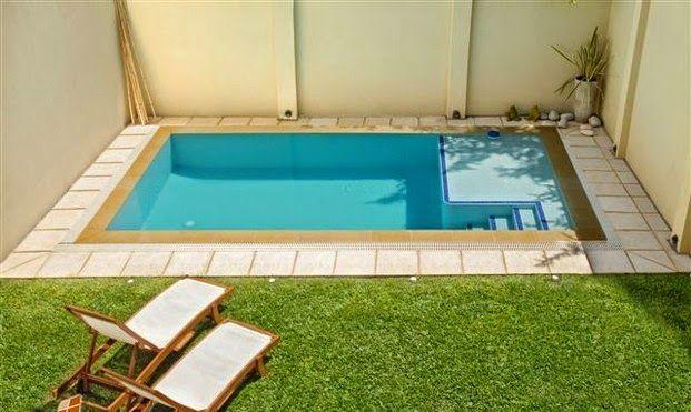 Resultado de imagen para piscinas en lugares pequeños Piscina