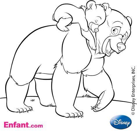 Coloriages à télécharger: Coloriages Disney : Frère des Ours ...