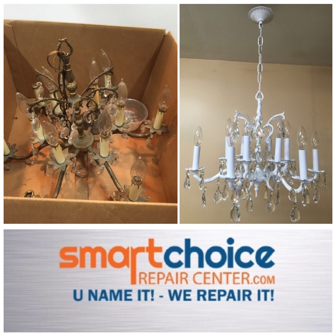 We Repair And Re All Types Of Chandeliers From Rusting Ling To Rewiring Are The Crystals Missing Or Need Cleaning Take A Picture Textit