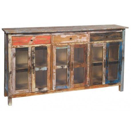 Aparador para comedor estilo Vintage. Mueble de madera de ...