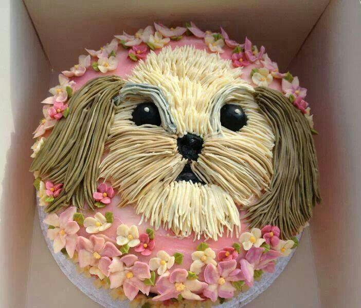 Dog Cake Dog Birthday Cake Puppy Cake Birthday Cake Decorating