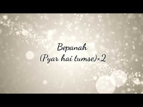 Lyrics of Bepanah Title Song (Colors) - YouTube | Cute christmas nails, Songs, Lettering