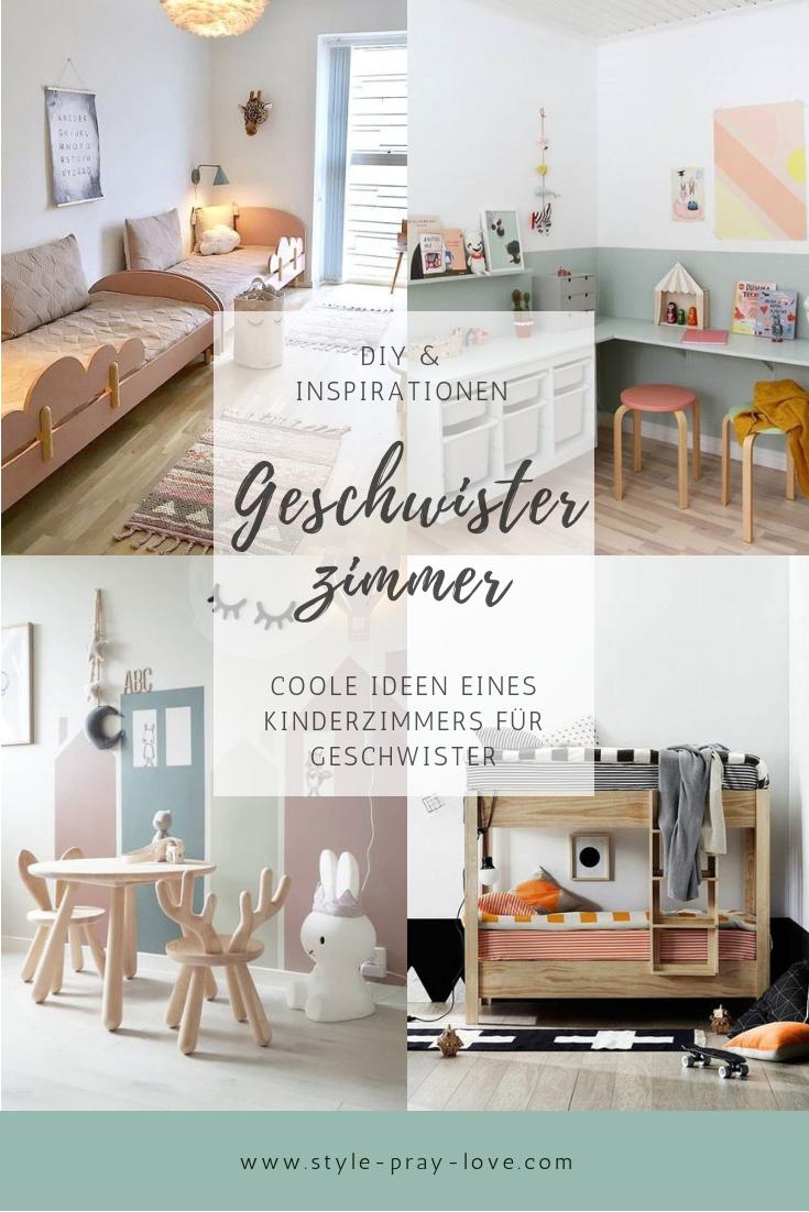 DIY: 5 Inspirationen für ein Geschwisterzimmer • style-pray-love #toddlerrooms