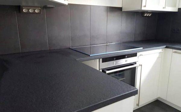 wundersch ne nero devil black granit k che. Black Bedroom Furniture Sets. Home Design Ideas