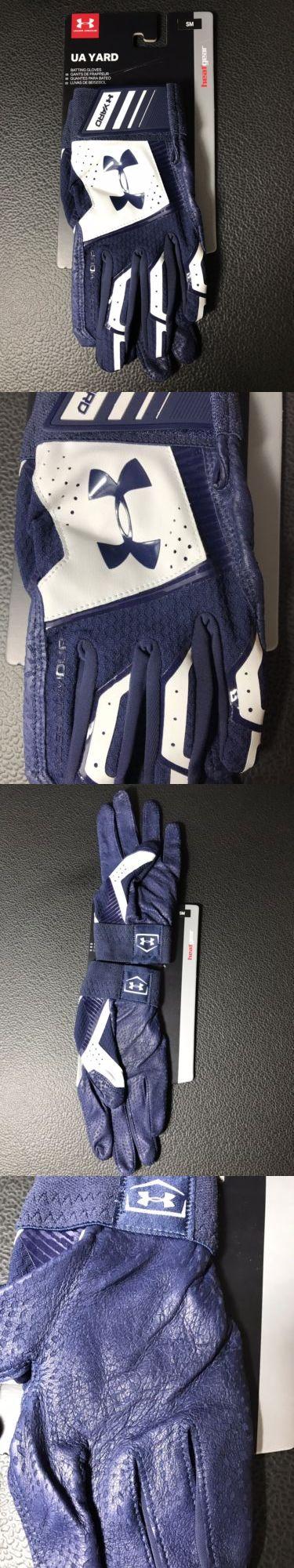 418e8501c81b7 Batting Gloves 181351  Under Armour Men S Ua Yard Baseball Batting Glove  Navy  45 Size Sm -  BUY IT NOW ONLY   24.99 on  eBay  batting  gloves   under ...