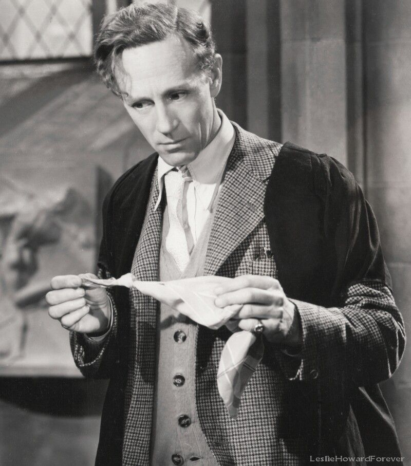 "Leslie Howard in ""Pimpernel Smith"" 1941"