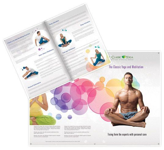 Creative health and fitness brochure Brochure Designs - fitness brochure