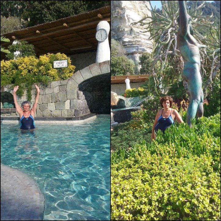 "Ai giardini "" Poseidon"" sull'isola d' Ischia ( luglio 2019"