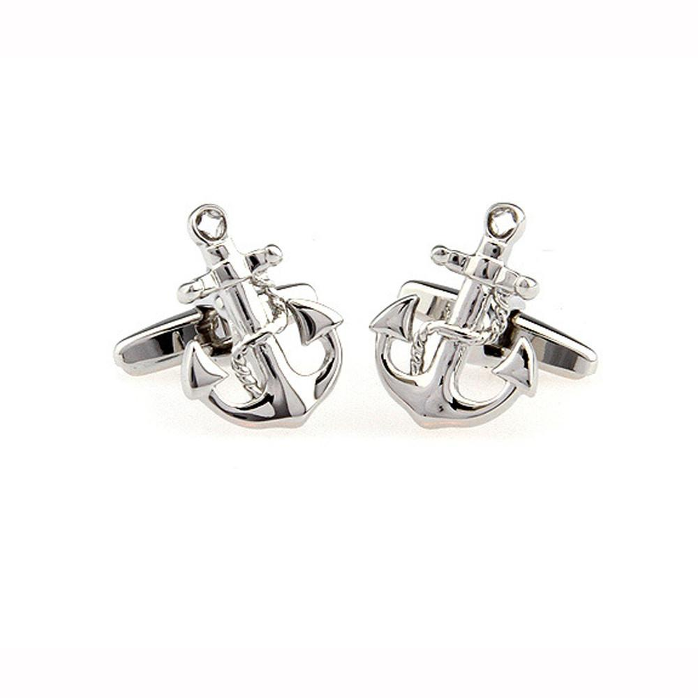 Mens Wedding Party Gift CuffLink Anchor Sailor Cufflinks - American ...