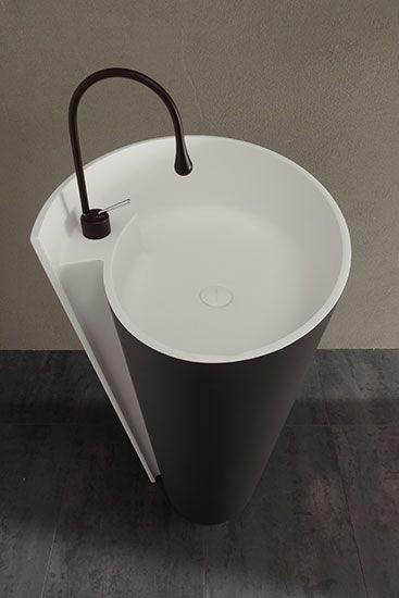 MastellaDesign - Kon Bicolor - lavabo a terra